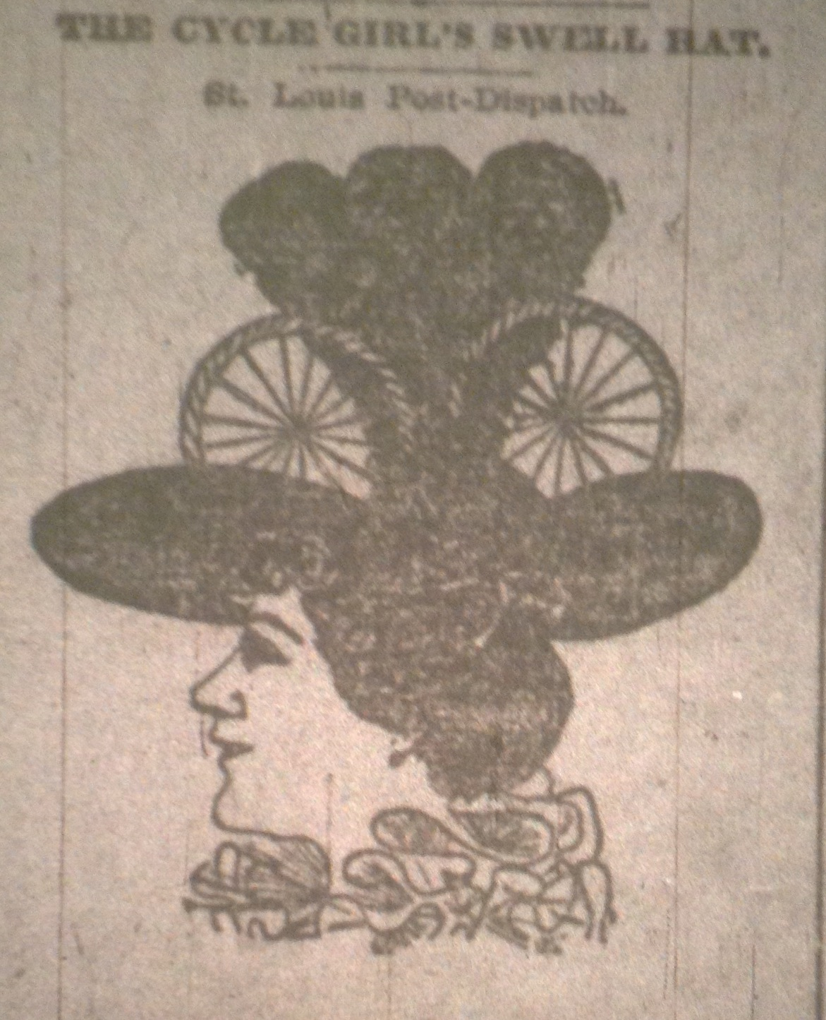 Ladies Lounge: Bicycle Hat?