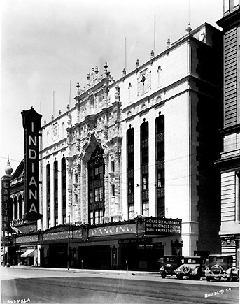 Indiana Theatre, which is the Indiana Repertory Theatre today. 1927. (Bass Photo Co Collection, Indiana Historical Societyyyyy).