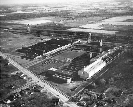 International Harvester Plant in Irvington, where Walter's father worked for about 15 years. INDIANSDLFKJSDLFJ.