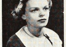 Mary's Senior Photo at Arsenal Technical High School, 1935. From InternetArchive.com.