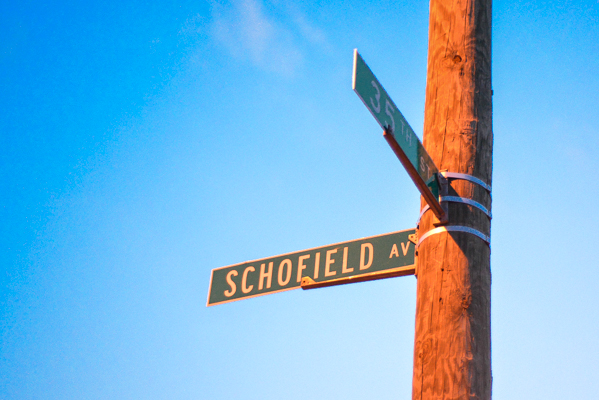 What's In a Name: Schofield Avenue