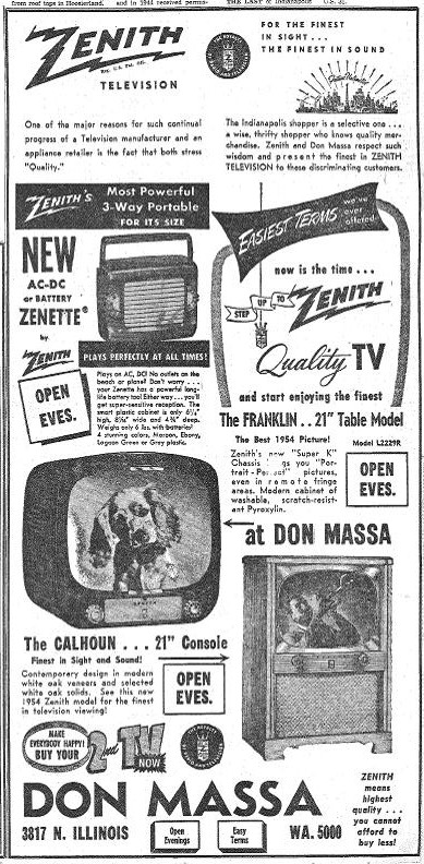Sunday Adverts: Don Massa Electronics Store