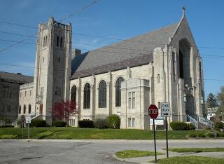 Irvington Presbyterian today. (Photo courtesy of Bill Guide, vintageirvington.blogspot.com).