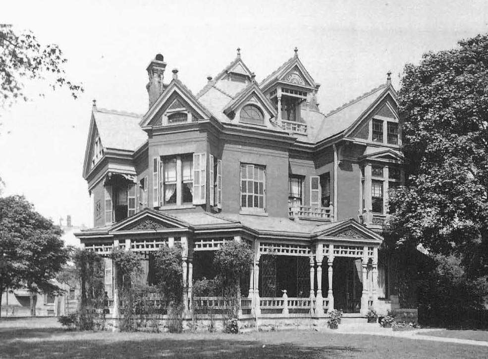 Indianapolis collected the ravages of the road historic for Victorian house facts