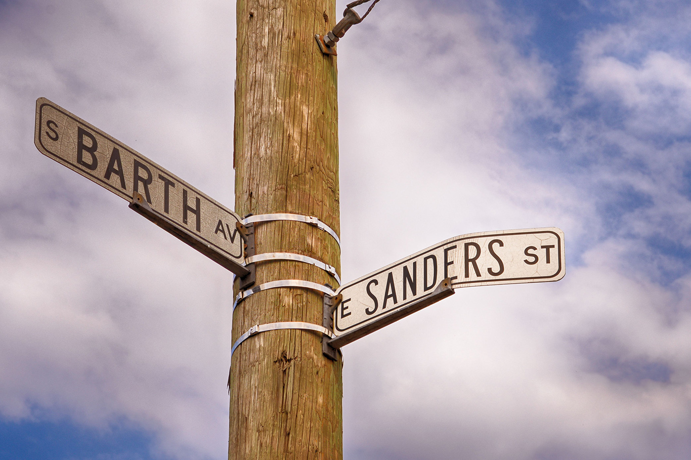 What's in a Name: Sanders Street