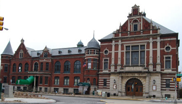 The Athenaeum has brick work similar to the home at 15th and Park (photo by Sharon Butsch Freeland)