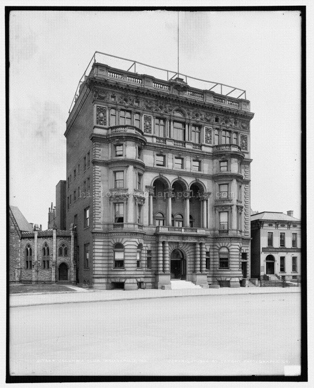 The second Columbia Club, 1899-1924 (Courtesy of the Library of Congress, Detroit Publishing Co. Collection)