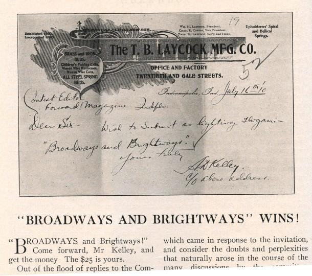 Kelley letter