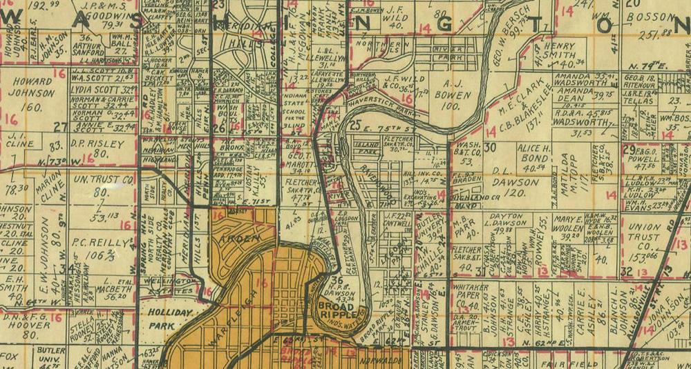 HI Mailbag Ravenswood Historic Indianapolis All Things