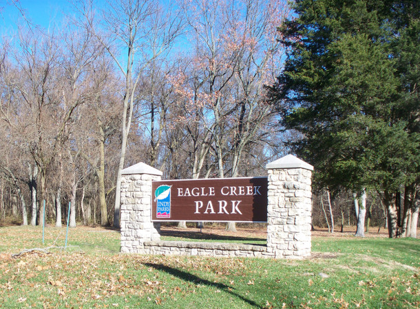 Eagle Creek Park is one of the largest municipally owned parks in the county (photo by Sharon Butsch Freeland)