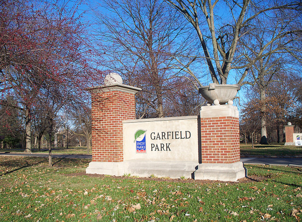 Originally called Southern Park, Garfield Park became the second park in the Indianapolis park system (photo by Sharon Butsch Freeland)