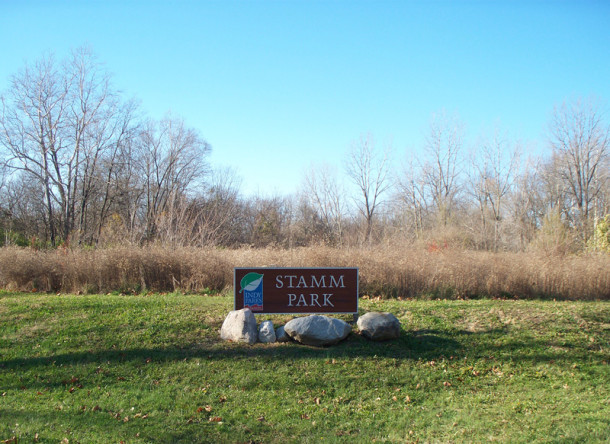 Stamm Park is one of several city parks in the Ravenswood area (photo by Sharon Butsch Freeland)
