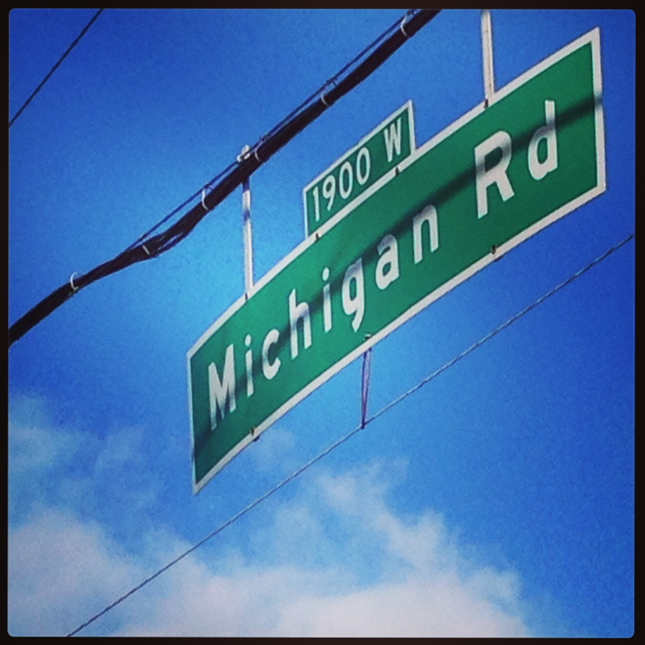 What's in a Name: Michigan Road