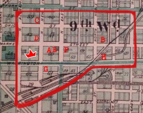 Indianapolis, Durant, 1876