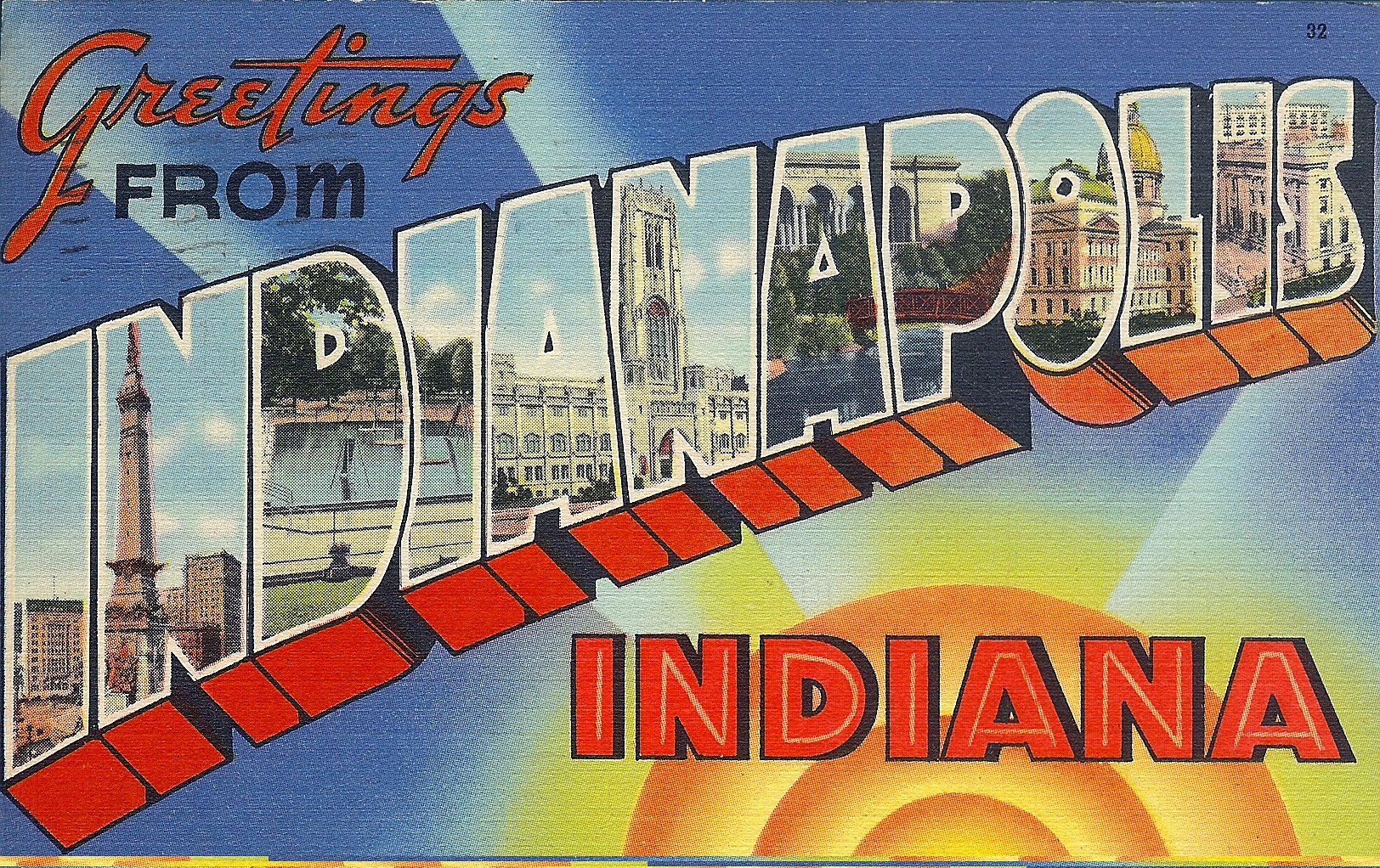 Penny Post: Greetings from Indianapolis, Indiana