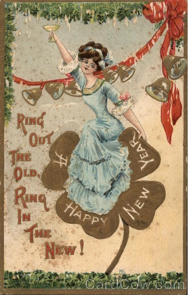 Penny Post: A Happy New Year, 1911!