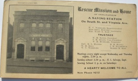 Sunday Adverts: (Wheeler) Rescue Mission and Home