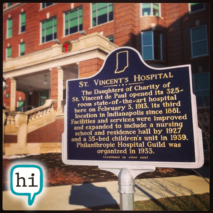 History of the St. Vincent Hospital Fall Creek Building