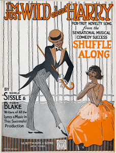 """Shuffle Along"" starred Florence Mills, and among its memorable tunes were ""In Honeysuckle Time,"" ""Love Will Find a Way,"" and the hit of the show, ""I'm Just Wild About Harry."""