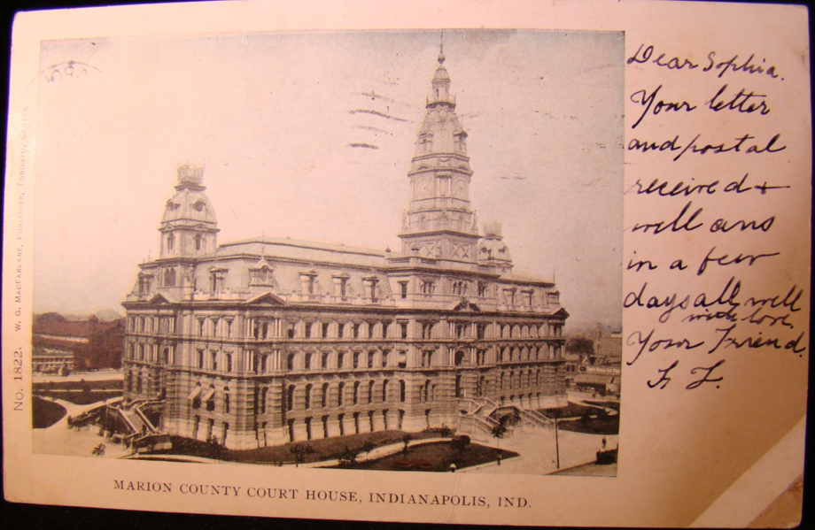 Penny Post: The Old Marion County Courthouse
