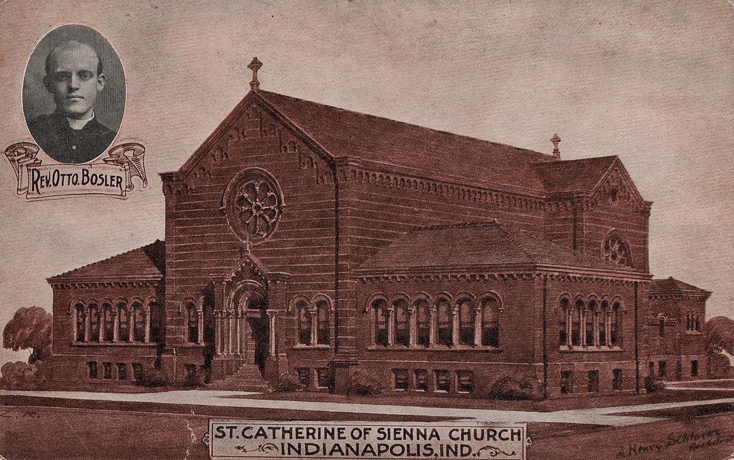 HI Mailbag:  St. Catherine of Siena Church