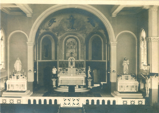 St. Catherine of Siena sanctuary (photo courtesy of Louis J. Mahern Jr.)
