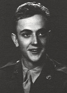 Kurt Vonnegut was in the U.S. Army from 1943 to 1945 (photo courtesy of U.S. Army)