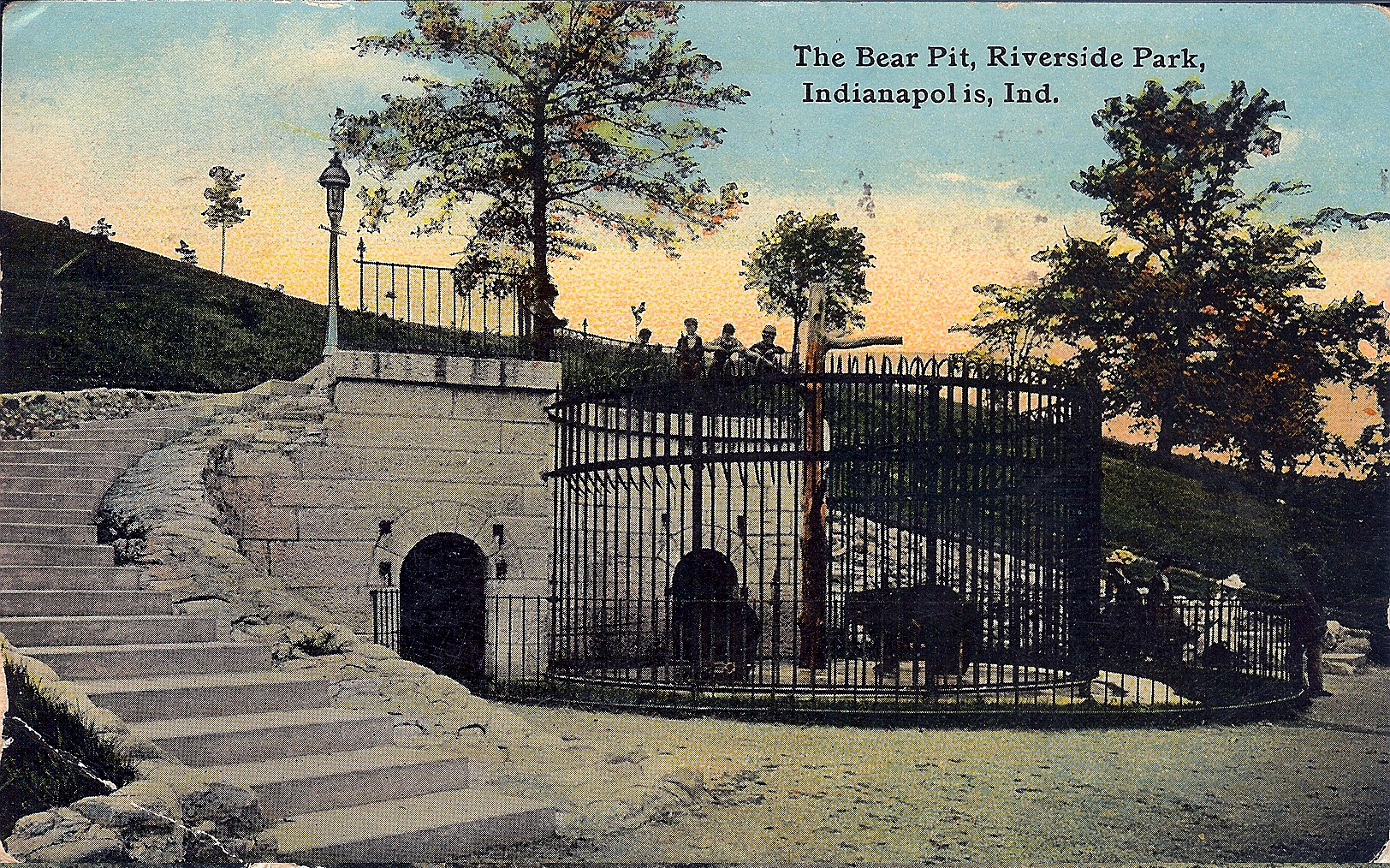 Penny Post: The Riverside Bear Pit