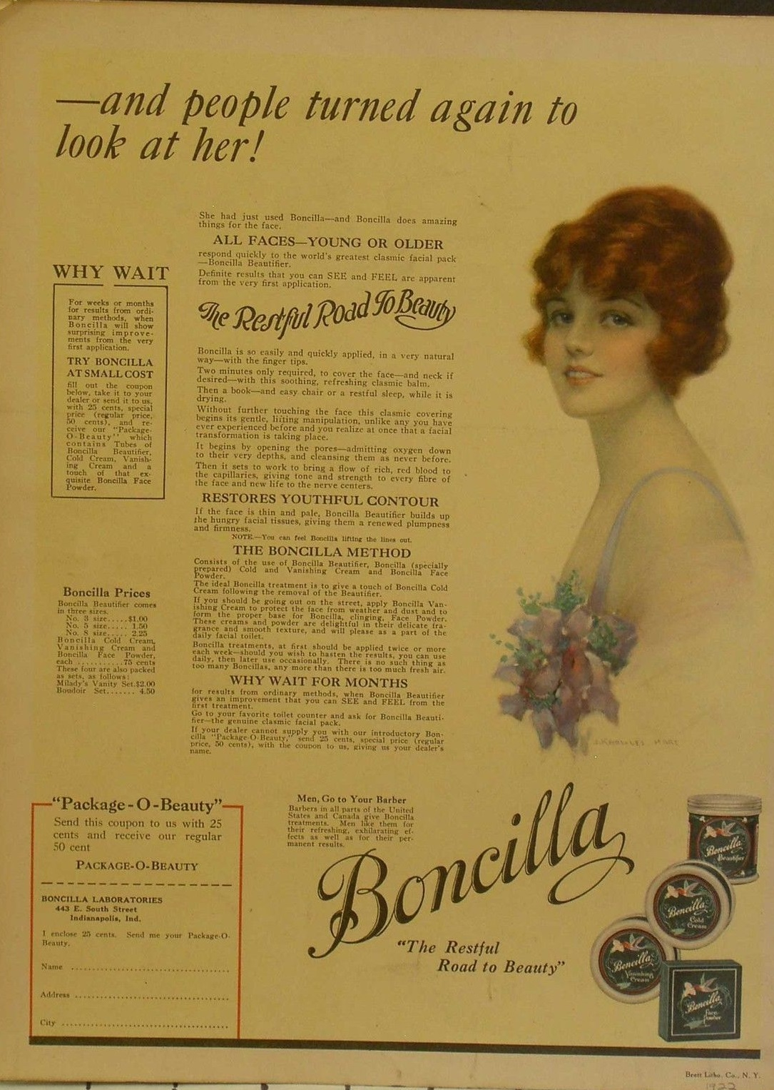 Sunday Adverts: Boncilla Cosmetics
