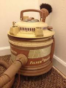 Example of a 1970s model of Filter Queen Vacuum Cleaner (image courtesy of eBay)