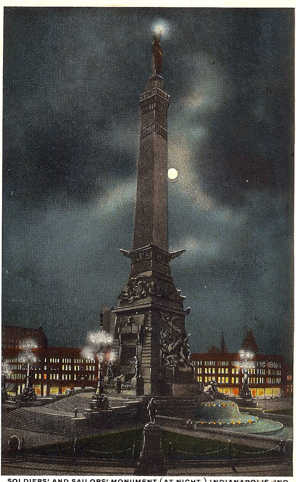 Penny Post: The Monument at Night