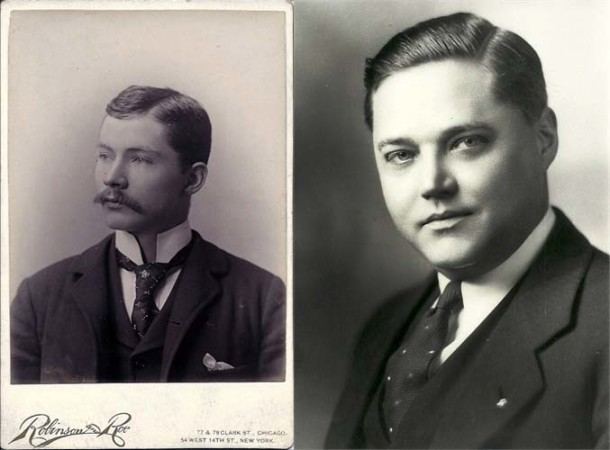 John G. Pantzer, Jr. (1869-1934) and his son John G. Pantzer (1897-1973) (From the ancestry.com page of Deborah Shadd)
