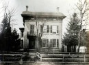 The David Macy house at 408 N. Delaware Street (The Indiana Album: Loaned by Joan Hostetler)
