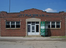 The office of the manufacturing facility at 2906 Columbia Avenue is in a brick building separate from the industrial areas  (photo by Sharon Butsch Freeland)