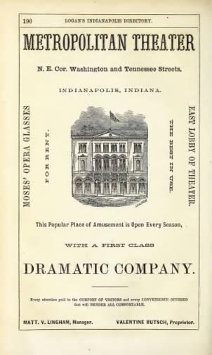 Sunday Adverts: Metropolitan Theater