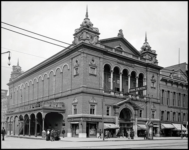The Park Theater in 1902 - Photo courtesy of the Indiana Historical Society