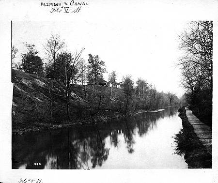 A view of the Central Canal from Fairview Park