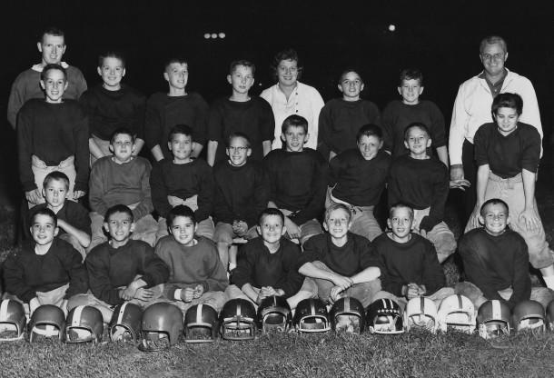 1957 boys football team (photo courtesy of Tabernacle Recreation)