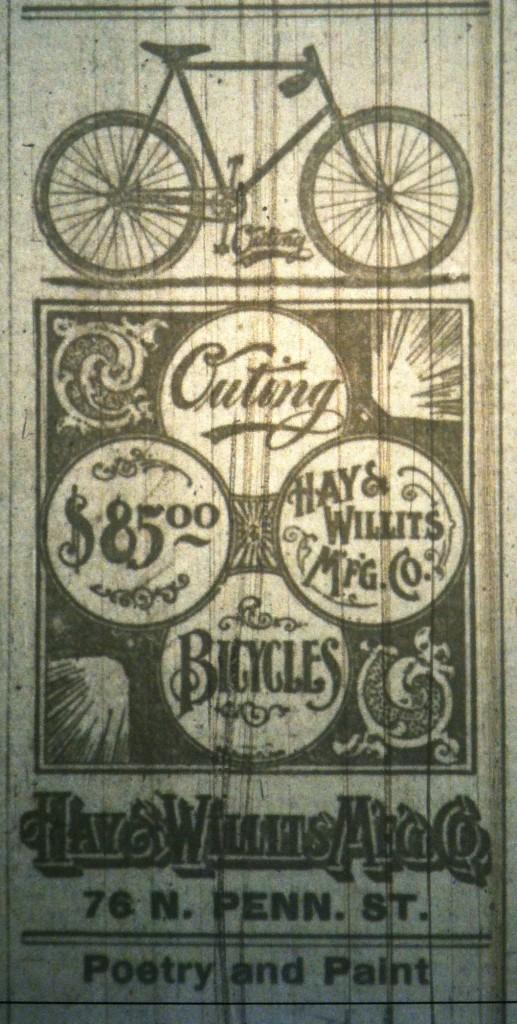 bike ad 1896