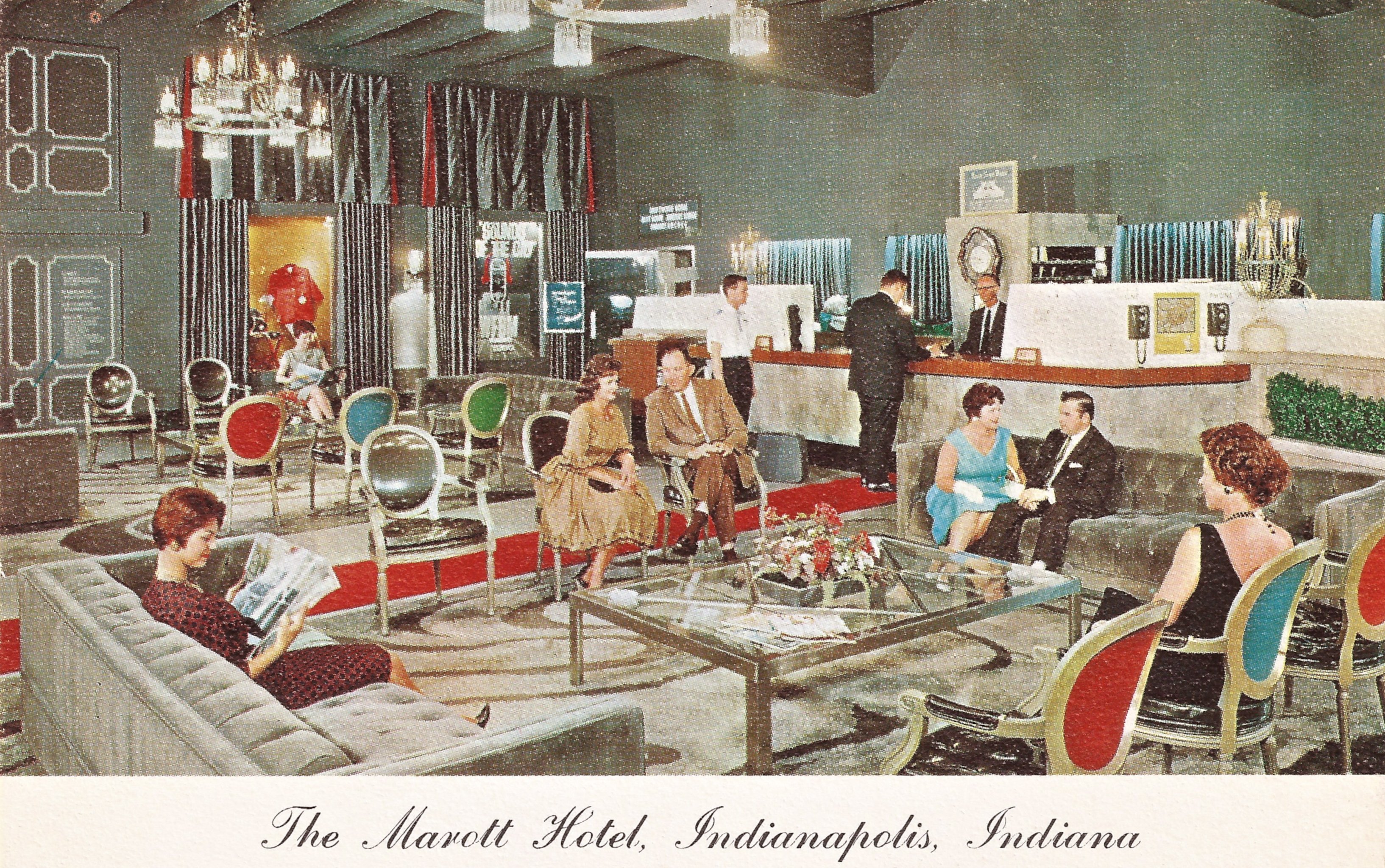 Sunday Adverts: The Marott Hotel