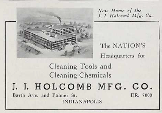 Sunday Adverts: J. I. Holcomb Manufacturing Company