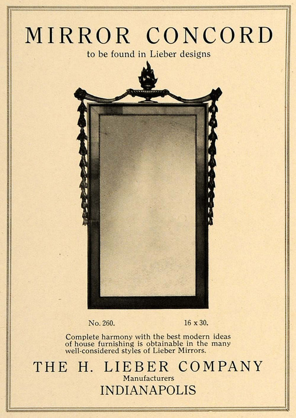 Page from a catalogue of H. Lieber Co. products
