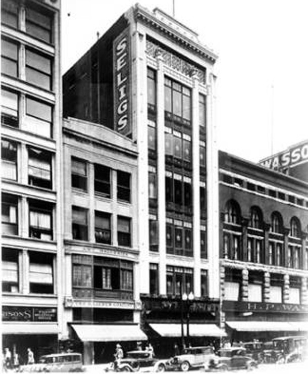 1929 image of the H. Lieber Co., a few years after it was rebuilt (W. H. Bass Photo Company Collection, courtesy of the Indiana Historical Society)