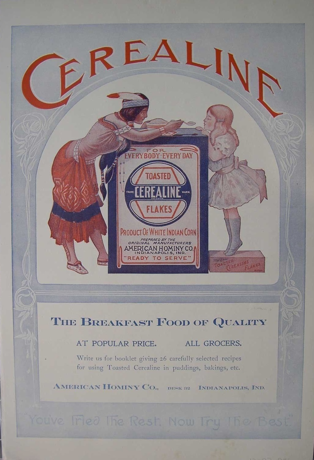 Sunday Adverts: American Hominy Company
