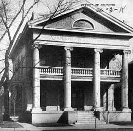 Knights of Columbus Building 1911 (Indiana Historical Society, William H. Bass Photo Company, #24804