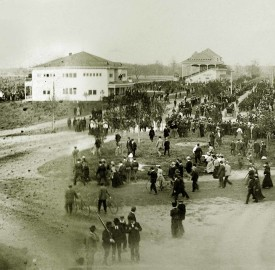 Panoramic view of the Indiana State Fair, 1900 (The Indiana Album: Loaned by Elizabeth Robb)