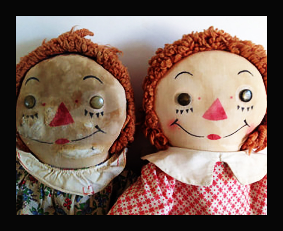 Friday Favorite: Raggedy Ann and Indy
