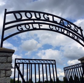 One of Douglass Park Golf Course's most famous visitors was Joe Lewis.