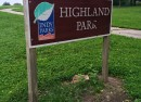 Welcome to Highland Park in the Holy Cross neighborhood