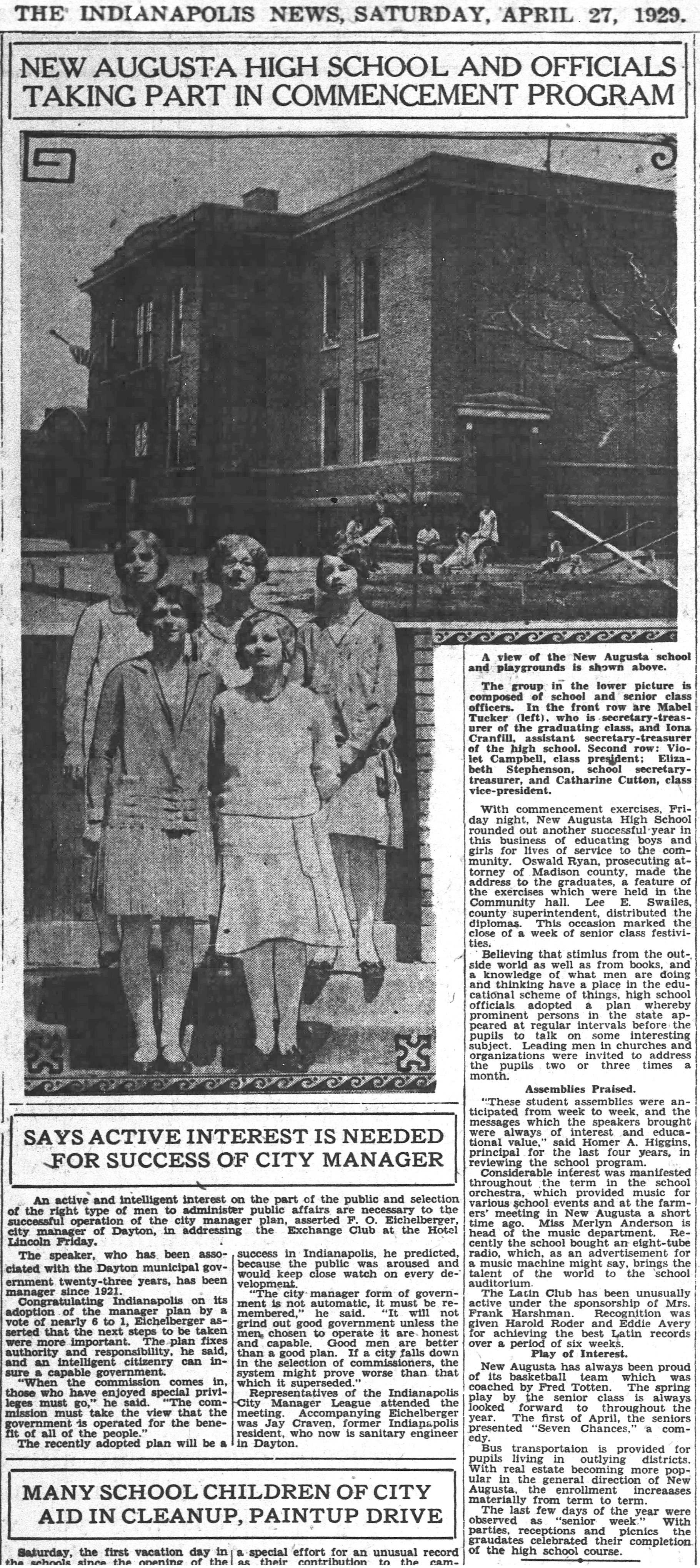 (scan courtesy of newspapers.com) CLICK ON ARTICLE TO ENLARGE